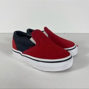 Vans Classic Slip-On Suede & Suiting Sneakers